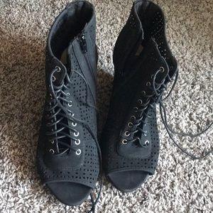 Black torrid booties